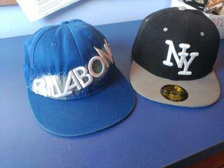 Gorras Billabong y NY