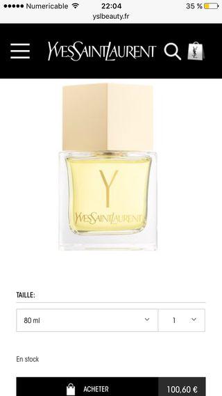 Parfum YSL Y Pour Femme