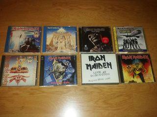 Iron Maiden lote de cd