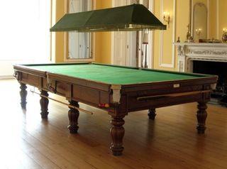 Pujas por Mesa de billar Snooker full size