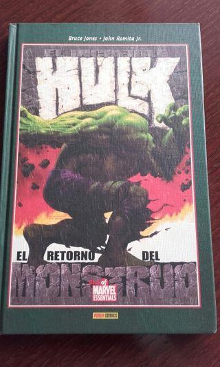 Cómic. Hulk: El retorno del monstruo