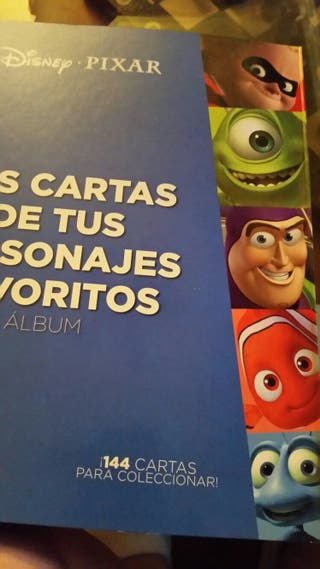 SE VENDEN cromos Disney Pixar Hipercor