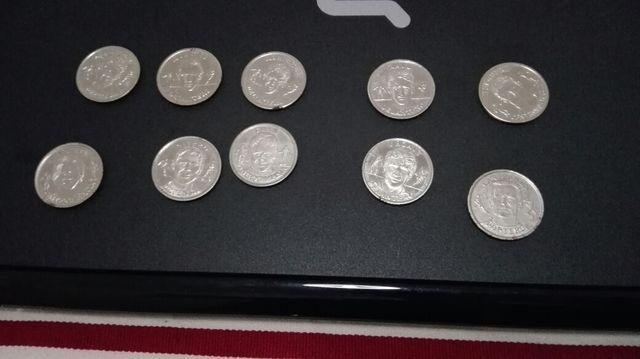 Monedas colección selección española 2000