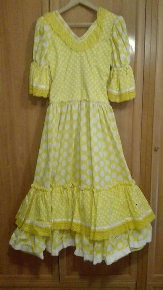 vestido flamenca...