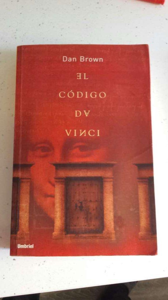 Libro el codigo da vinci /angeles y demonios