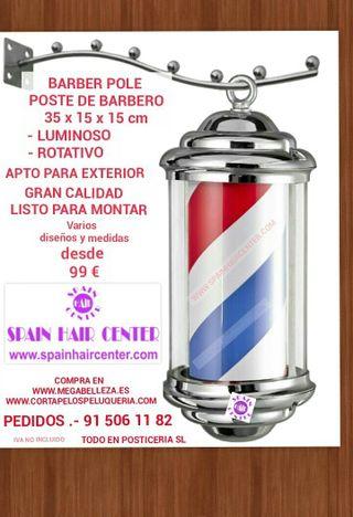 Poste de barbero Barberia peluquería barber