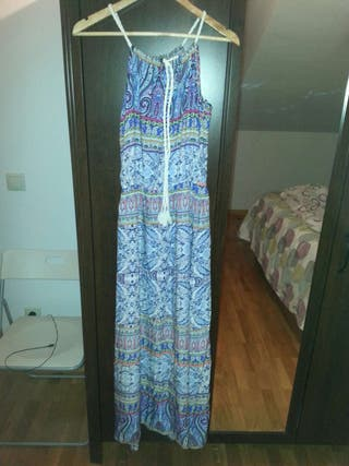 Vestido largo talla unica