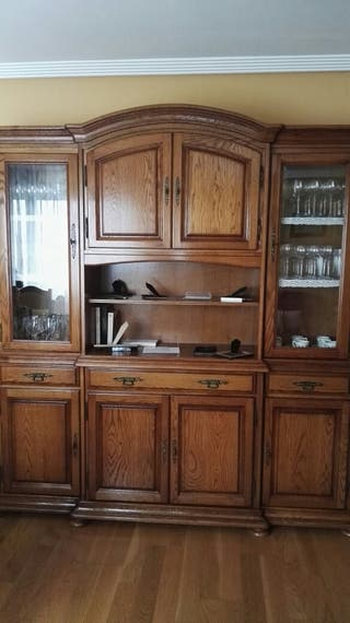 Muebles roble macizo