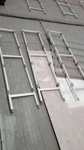 Estanterías aluminio
