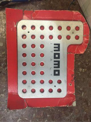 Placa De Aluminio Momo Reposapies