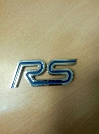 Logo RS Ford original