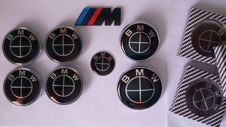 Kit black edition lote 7 piezas para BMW