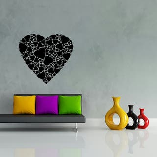 Vinilo decorativo corazones pegatinas pared