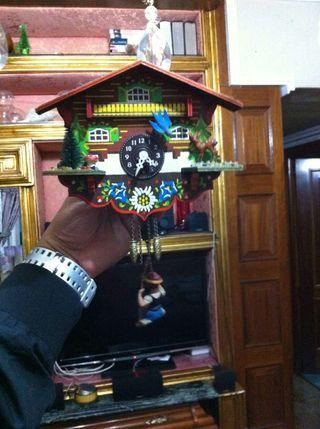 Reloj de pared cucu kuku