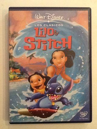 LILO & STICH Disney dvd