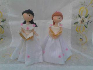 Muñeca hechas a mano 20 cm