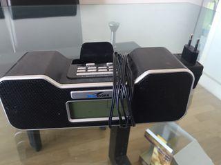 Radio avec station pour iphone/ipod