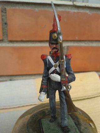 Figura plom sargento granadero