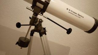 Teescopio astronomico reflector B&Crown