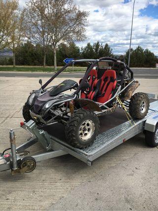 Transporte de motos,quad y buggys