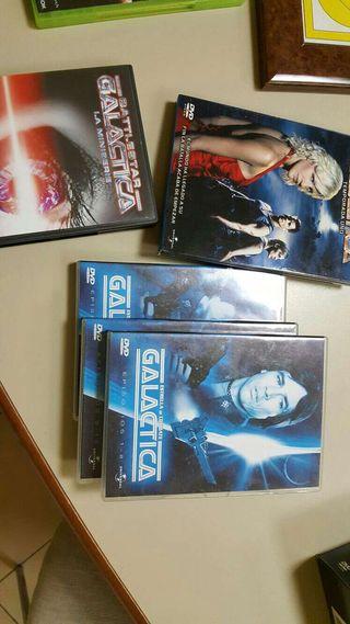 Serie galactica dvd
