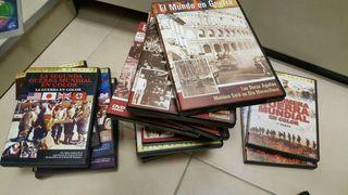 El mundo en guerra,la guerra en color ,dvd