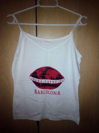 camiseta Capoeira chica Abada