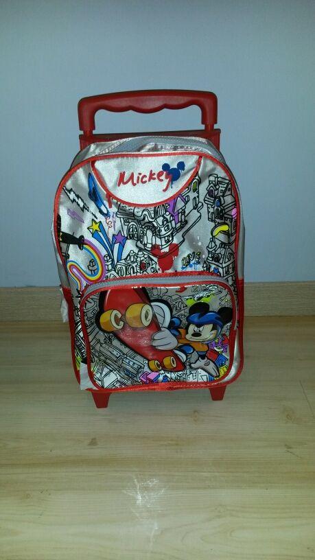 Mochila con ruedecitas Mickey Mouse. A estrenar
