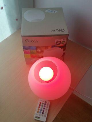 luz ambiental multicolor con mando a distancia