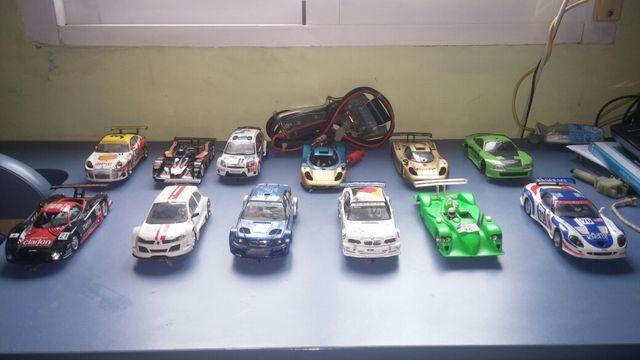 Lote de coches de scalextric