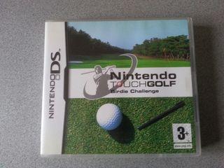 Juego psra nintendo ds tuoch golf
