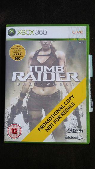 Xbox Tomb Rider UNDERWORLD