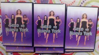 Sexo en nueva york. Primera temporada.DVD