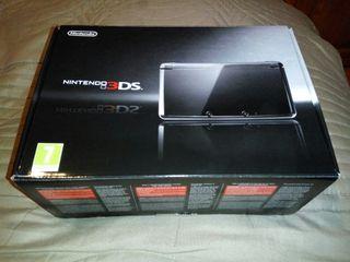 Consola Nintendo 3DS Black Cosmos nueva