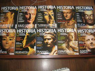 Revistas Historia National Geographic