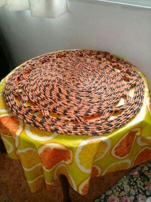 Esterilla - alfombra fabricada a mano