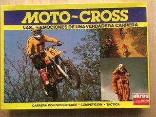 Juego Moto-Cross. Años: 80