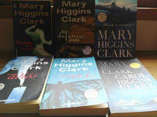 LIBROS MARY HIGGINS CLARK