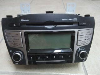 Radio-cd con bluetooth para ix35