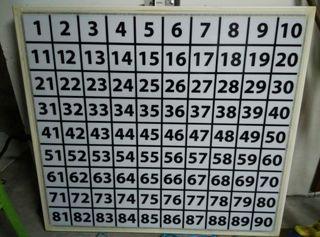 Pantalla para bingo social