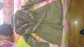 Abrigo verde encerado 38