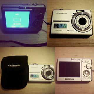 Cámara Digital Olympus FE-190