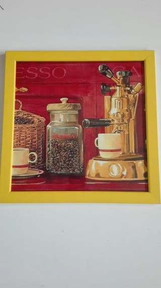 Cuadro café
