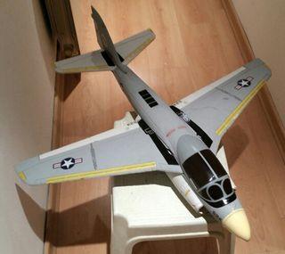 avion rc Jet a-6 intruder (ducted fan)