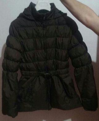 Abrigo marrón Brotes
