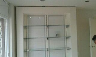 Expositor, mueble tienda o despacho