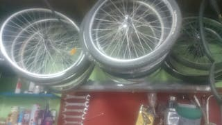 Lote de ruedas de bici