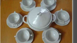 Juego Consome Porcelana