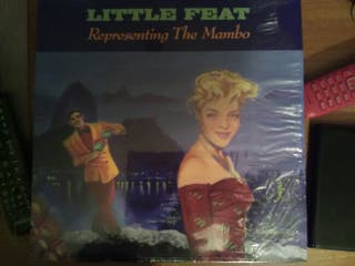 Lp Little Feat Representing the mambo