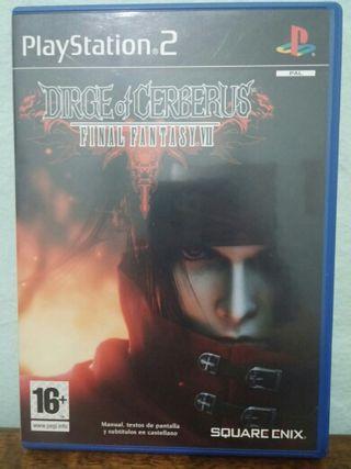 Final Fantasy VII Drige Of Cerberus PS2